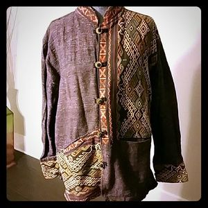 Handicraft of Ikat Collection Jacket